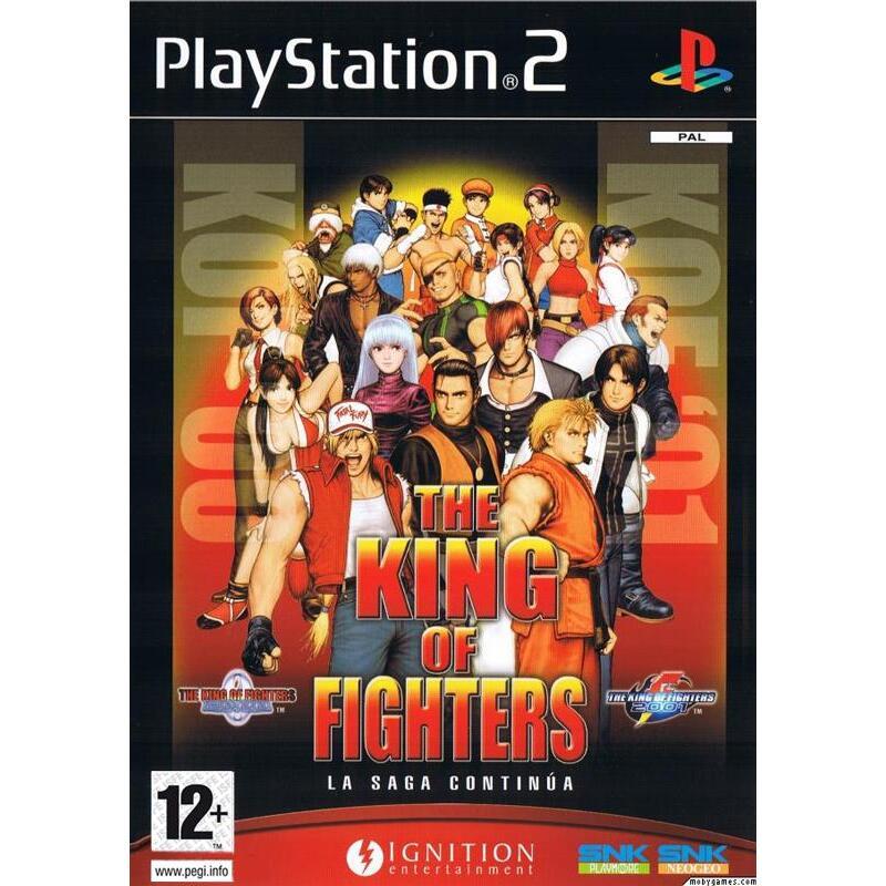 King Of Fighters 2000 2001 Game Kopen Morgen In Huis Alle Ps2 Spellen Vanaf 2 00